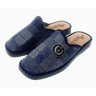 elegante di prim'ordine Prezzo di fabbrica 2019 eSprez Pantofole Uomo Chiuse Ciabatte Invernali Antiscivolo Suola in Gomma