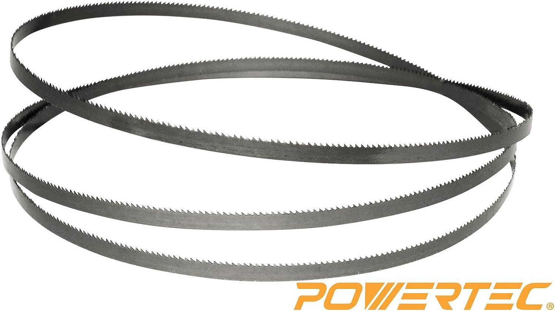 POWERTEC 13188X Band Saw Blade 70-1//2-Inch x 3//16-Inch x 10 TPI x 0.025