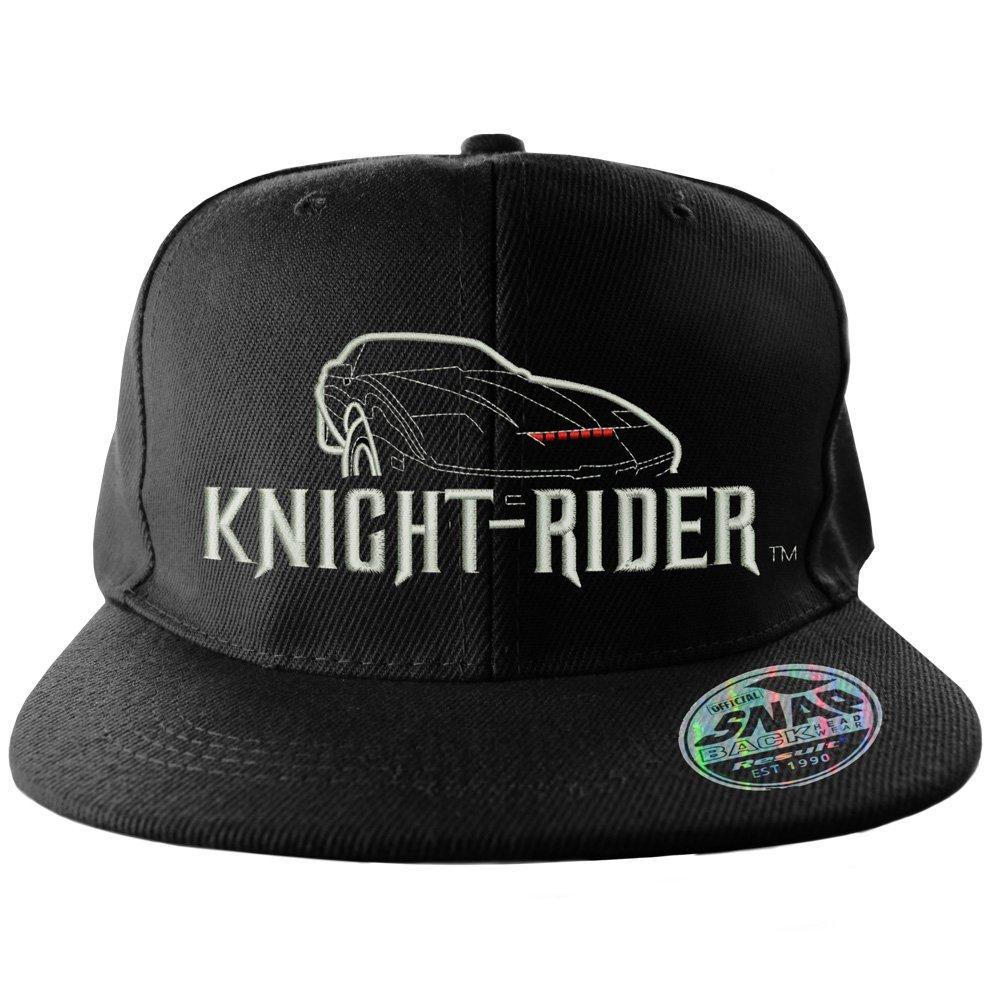 Knight Rider Baseball Cap Snapback Cap Logo Official Black at Amazon Men s  Clothing store  b825da44ba