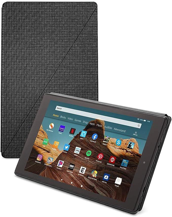Amazon.com: Amazon Fire HD 10 Tablet Case, Charcoal Black: Kindle Store