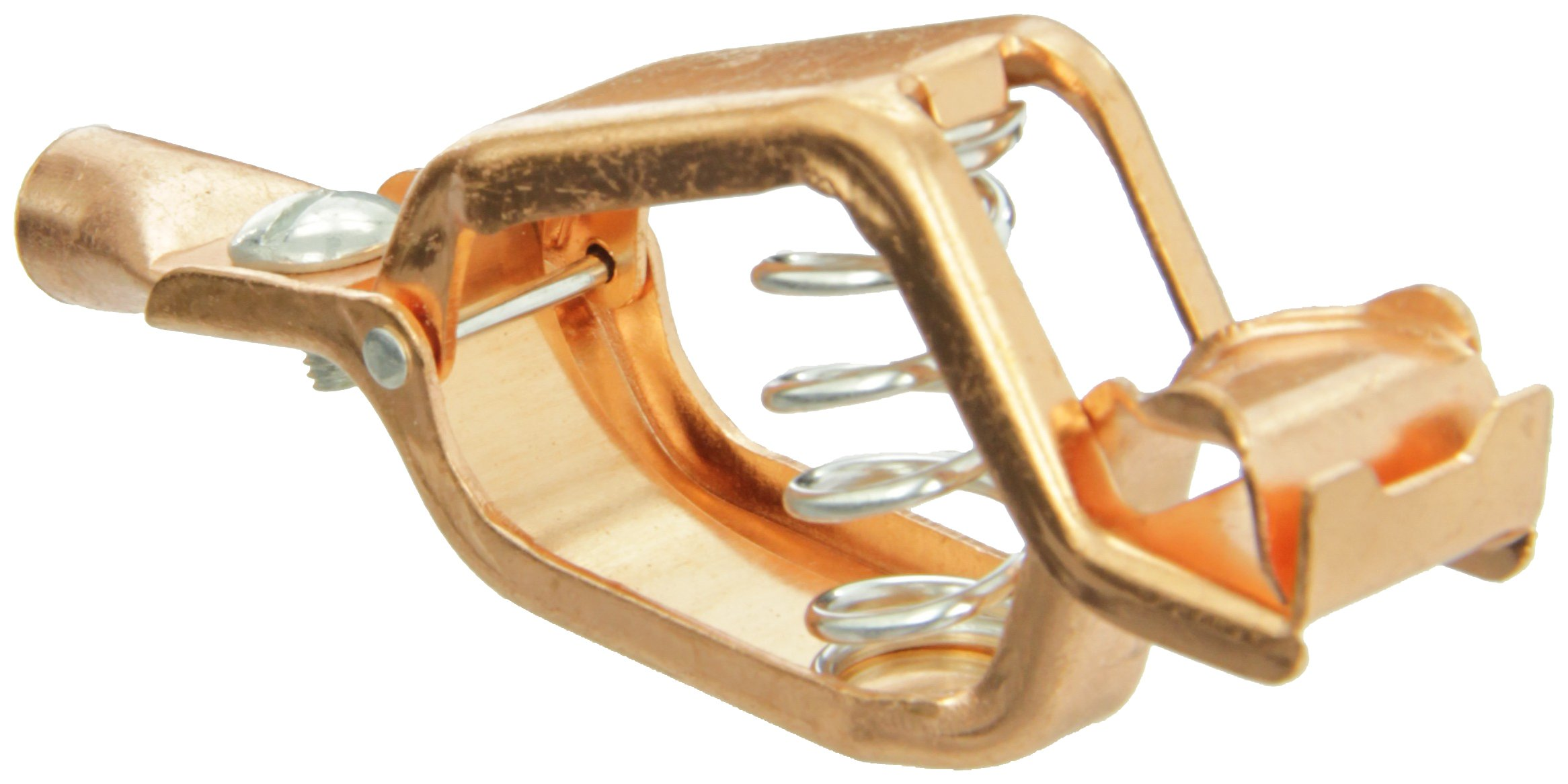 Cal Test Electronics CTM-21CPN Copper Medium Heavy Duty Clip, 100 Amp, 4-7/64'' Length (Pack of 10) by Cal Test Electronics
