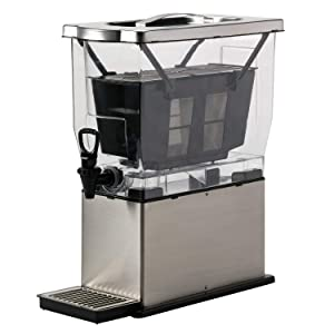 Service Ideas, CBNS3SS, Cold Brew N' Serv System, 3 Gallon, Stainless Steel