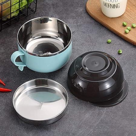 Amazon.com: YBOBK HOME - Bol para sopa de acero inoxidable ...