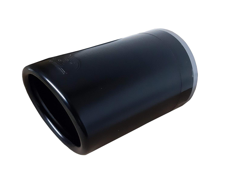 40-60 mm 70 x 120 CARTUNER Sportauspuff Auspuffblende Endrohr rund schwarz matt