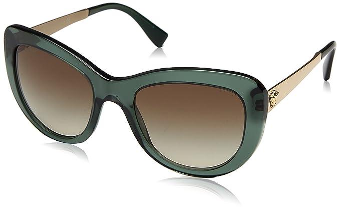 Versace 0Ve4325 Gafas de sol, Transparent Green, 54 para ...