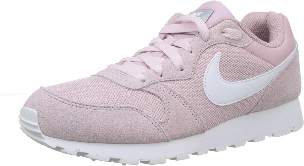 Nike MD Runner 2, Zapatillas de Running Mujer, Multicolor (Plum ...