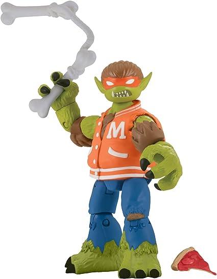 Teenage Mutant Ninja Turtles Werewolf Michelangelo Basic Action Figure, 5