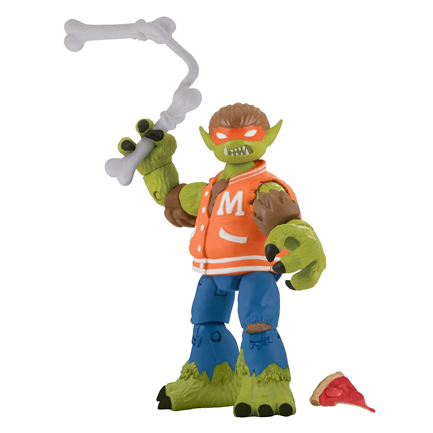 Teenage Mutant Ninja Turtles Werewolf Michelangelo Basic Action Figure, 5""