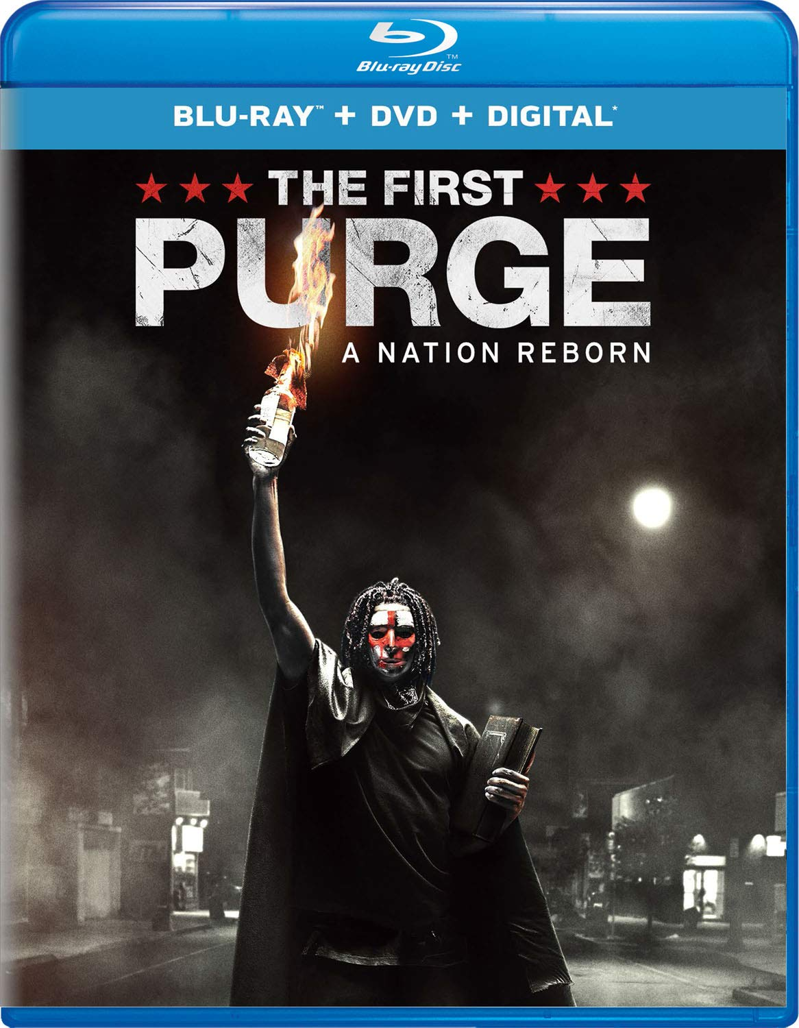 Blu-ray : The First Purge (With DVD, 2 Pack, Digital Copy, 2PC)