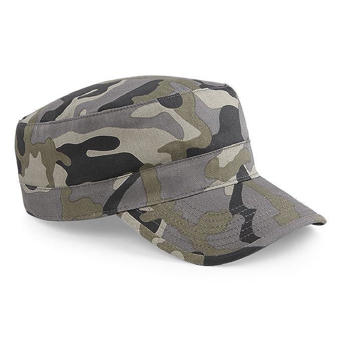 Cappellino Mimetico Militare Berretto Uomo Beechfield Army Camouflage Cotone 877cca09cdec