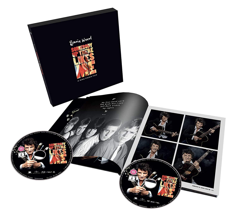 Somebody Up There Likes Me Edición Deluxe Limitada DVD + Blu ...