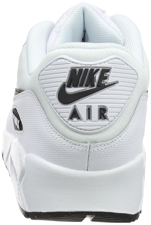 NIKE Damen Gymnastikschuhe, Air Max 90 Gymnastikschuhe, Damen Weiß (Weiß/schwarz 131) 57ef98