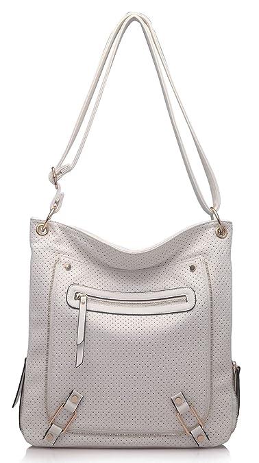 Big Handbag Shop Borsa messenger da donna, con tracolla e