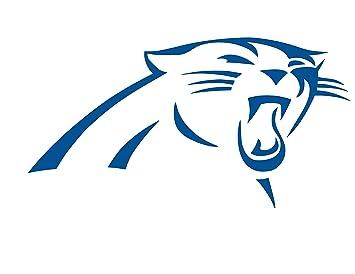 Amazoncom Carolina Panthers Logo Vinyl Sticker Decal 4 X 22