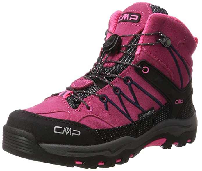 CMP Campagnolo Unisex-Erwachsene Rigel Trekking-& Wanderstiefel, Pink (Pink Fluo-Asphalt), 40 EU