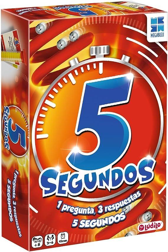 Lúdilo 5 Segundos COMPAC- Cartas de preguntas: Amazon.es: Juguetes y juegos