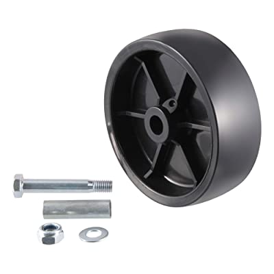 CURT 28912 6-Inch Replacement Boat Trailer Jack Wheel: Automotive