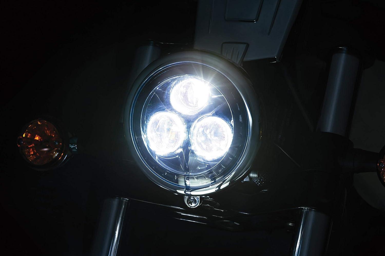 Indian 5-3//4 Orbit LED Headlight for Harley-Davidson Kuryakyn 2475 Motorcycle Lighting Accessory Victory Motorcycles