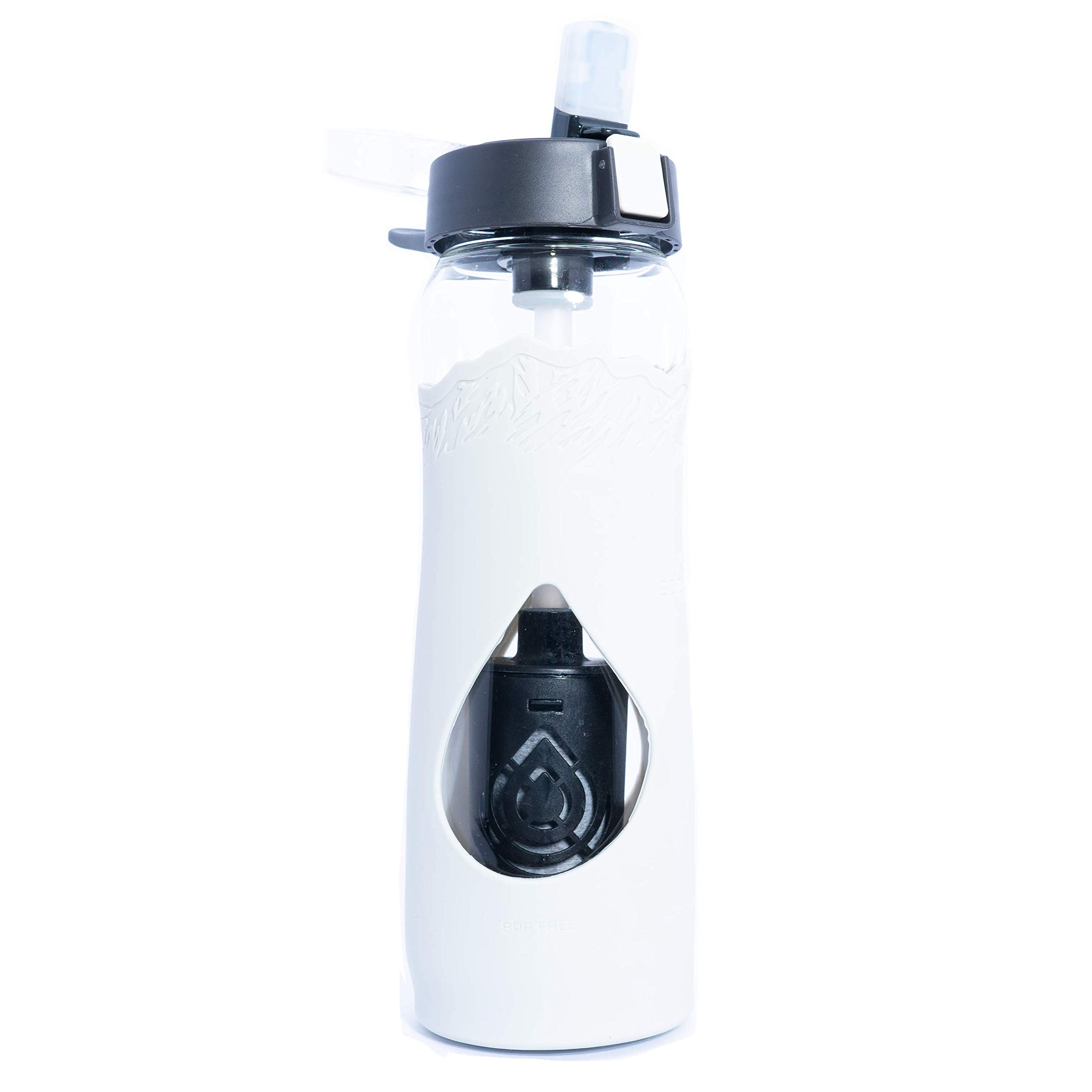 Escape Glass Filtered Water Bottle