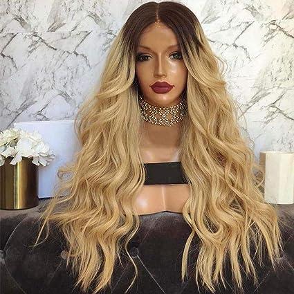 Perruque brune femme, Perruque Cheveux Nouveau