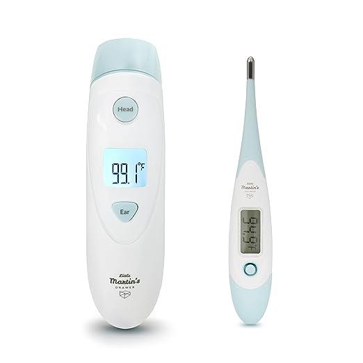 6 opinioni per Kit di termometri Little Martin – include termometri a infrarossi e digitali–