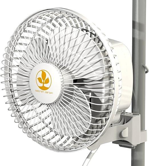 Ventilador de aire con clip pinza 15cm 16W Secret Jardin (Monkey ...