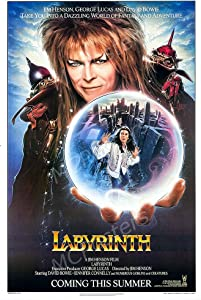 """MCPosters Labyrinth 1986 David Bowie GLOSSY FINISH Movie Poster - MCP405 (24"""" x 36"""" (61cm x 91.5cm))"""