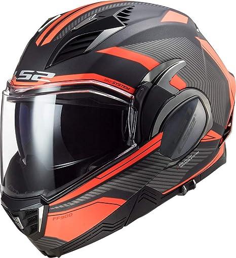 Ls2 Herren Valiant Ii Revo Motorrad Helm Orange Xxl Auto