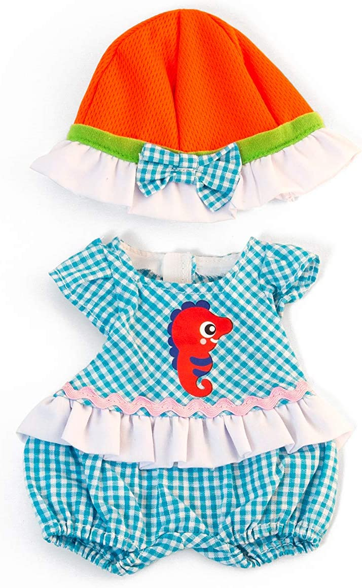 "Warm Weather Jumper Hat Set Miniland Educational Clothing for 12 5//8/"" Anatomically Correct Dolls"
