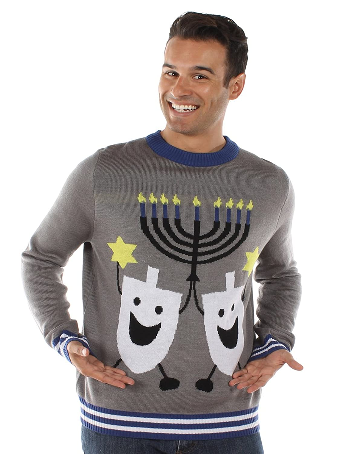 Ugly Christmas Sweater - Ugly Hanukkah Sweater by Tipsy Elves at ...