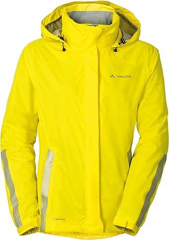 VAUDE Womens Yaras Jacket Iii Veste de pluie performante pour le cyclisme Femme