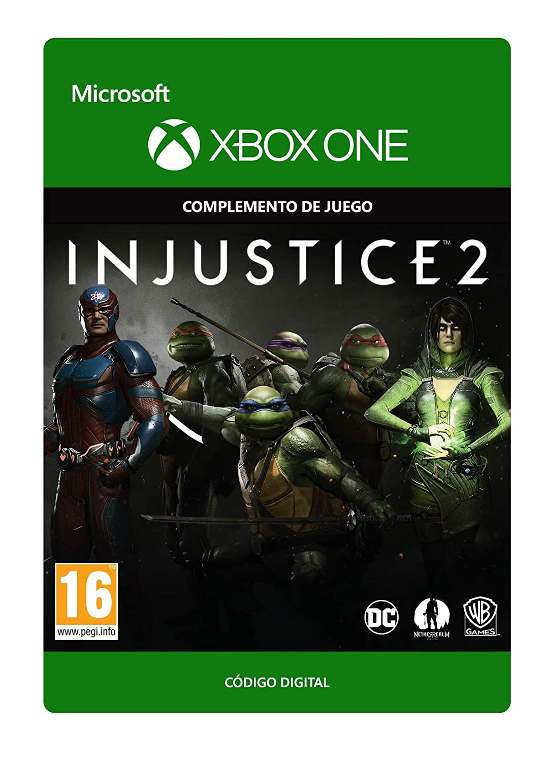 Injustice 2: Fighter Pack 3 | Xbox One - Código de descarga ...
