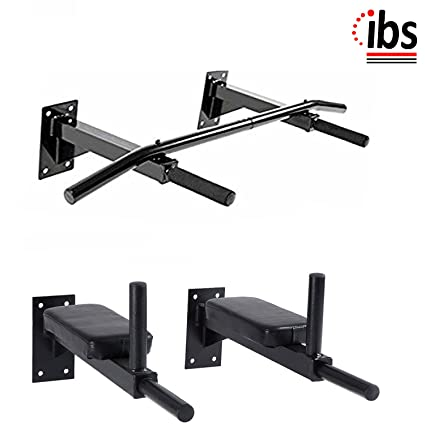 Buy Ibs Home Gym Chin Up Bar Dips Bar With Pab For Multiple Body