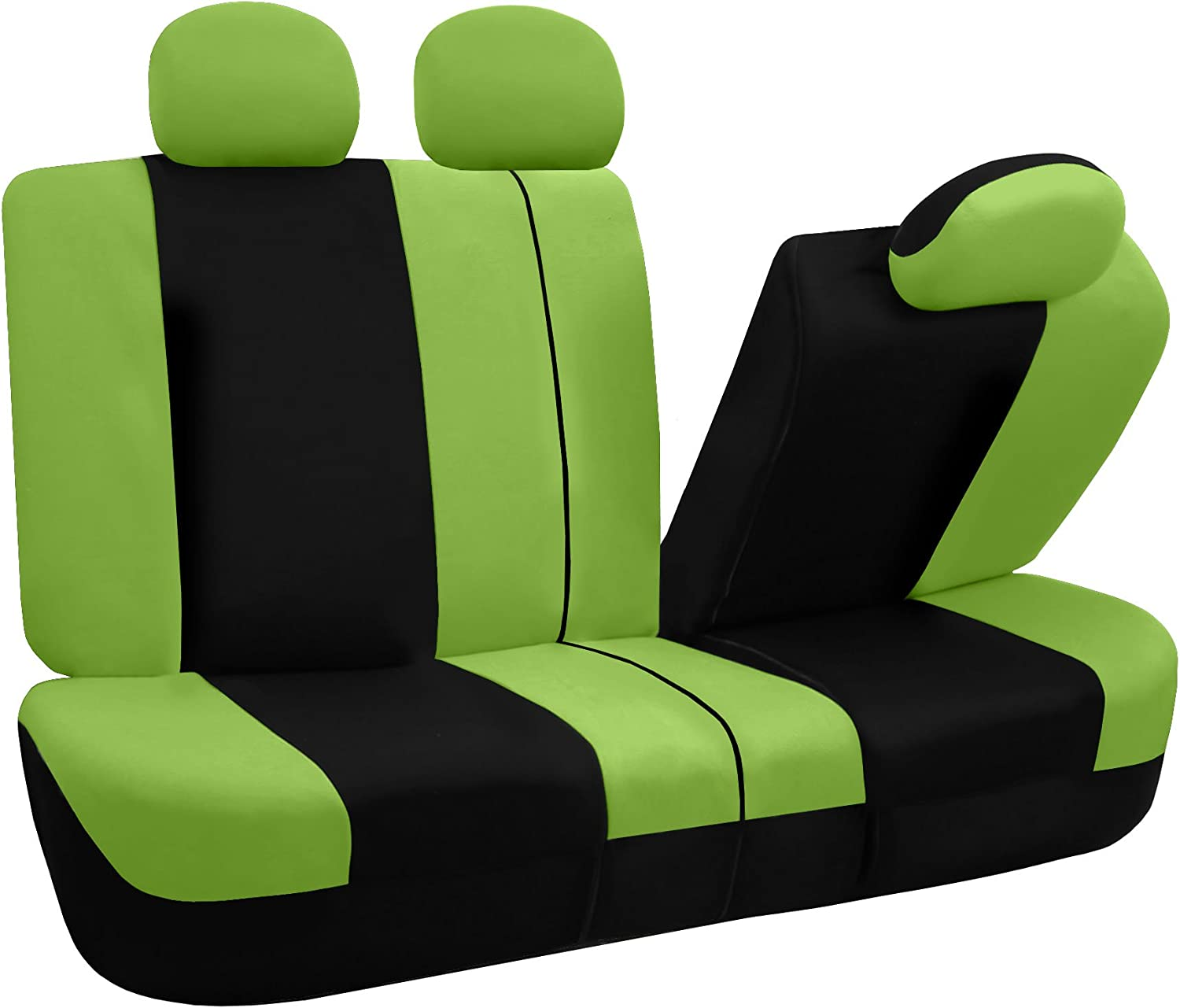 Side Airbag Compatible with Split Bench Green FH Group FB030GREEN115 full seat cover FB030GREEN115-SEAT