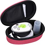 Aproca Hard Storage Travel Case Compatible with Steamfast SF-717 Mini Travel Steam Iron (Red-New Version)