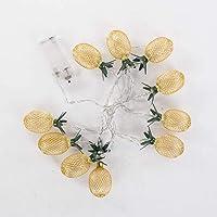 Euro Flora Led Işıklı Ananas 2 M (pilli-10'lu)
