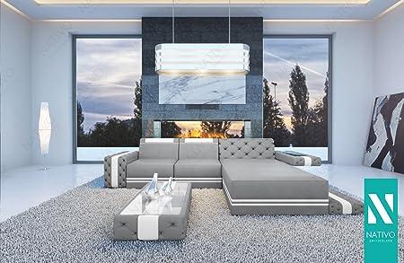 Nativo C Wohnlandschaft Designer Sofa In Kunstleder Imperial Mini Mit