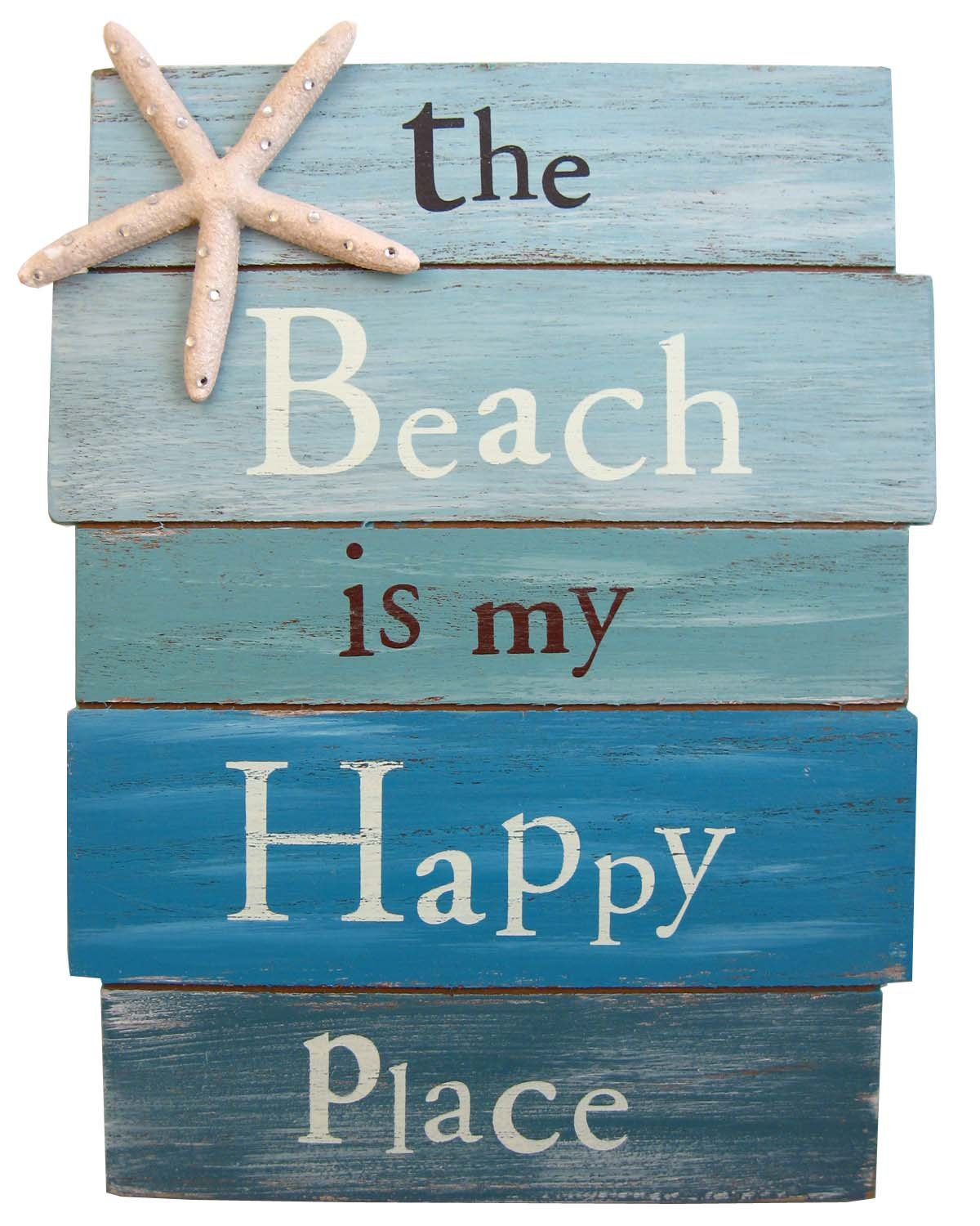 Sign - Beach is my Happy Place
