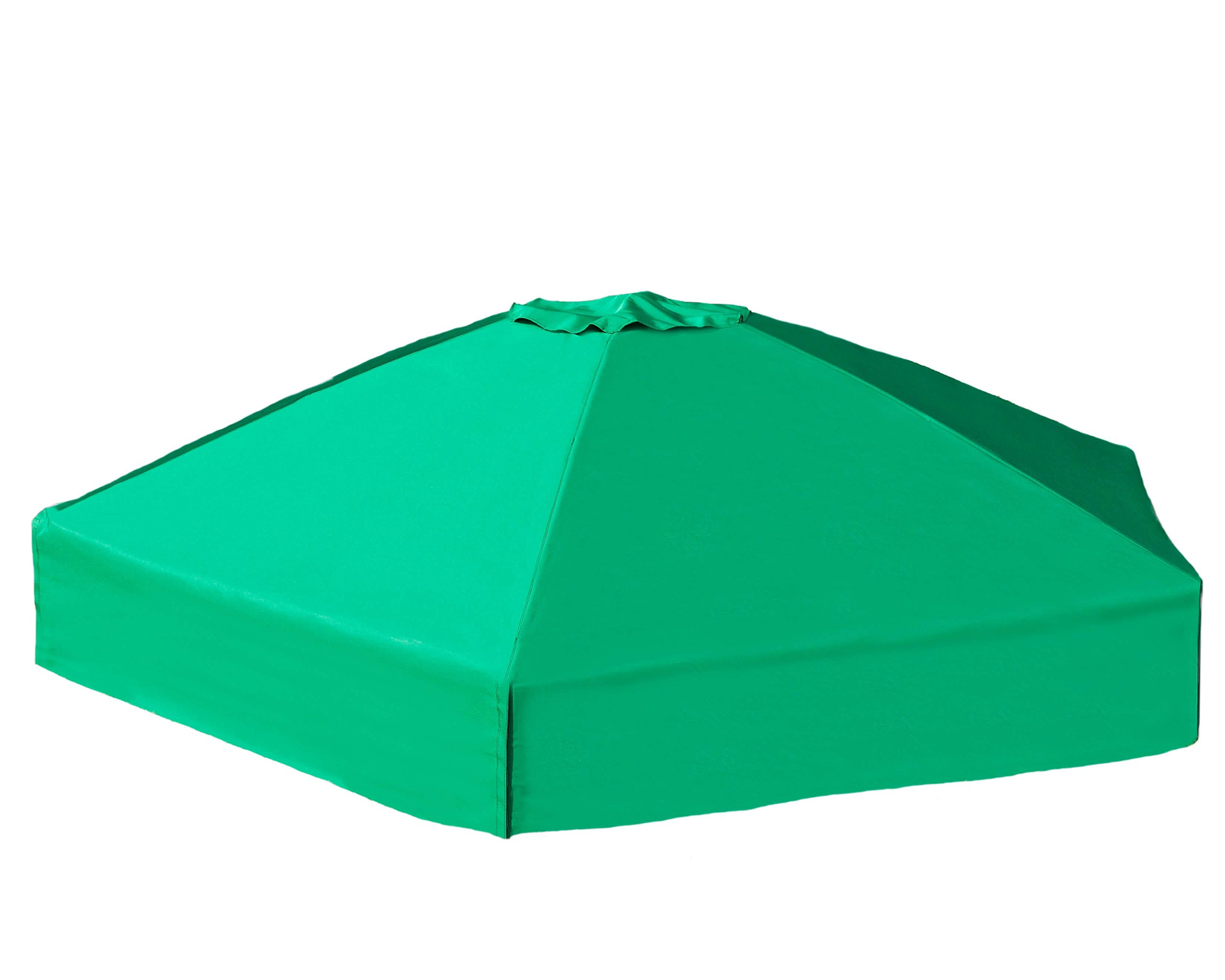 Frame It All 300001508 Hexagonal Collapsible Sandbox Cover, 7' x 8' x 13.5'' by Frame It All (Image #1)