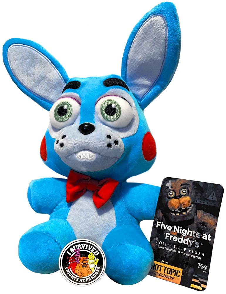 Amazon.com: Official Funko Five Nights at Freddys Toy Bonnie Limited Edition (Hot Topic) 6