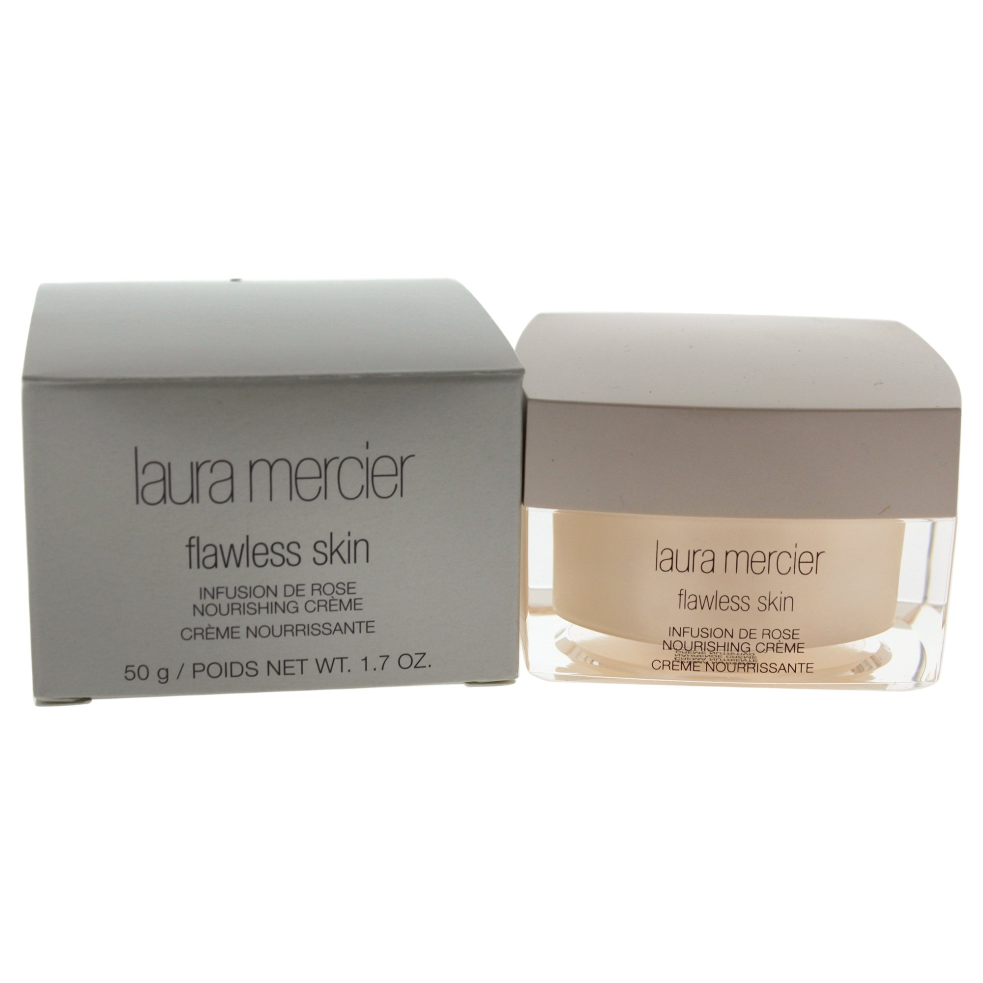 Laura Mercier Flawless Skin Infusion De Rose Nourishing Creme 1.7oz (50ml) Immortelle Precious Cream Loccitane 1.7 oz Cream Unisex