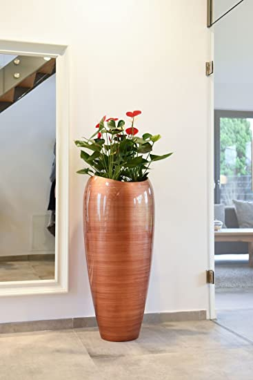 Exklusive Pflanzkübel pflanzkübel pflanzgefäß bodenvase exklusiv deluxe gold rot