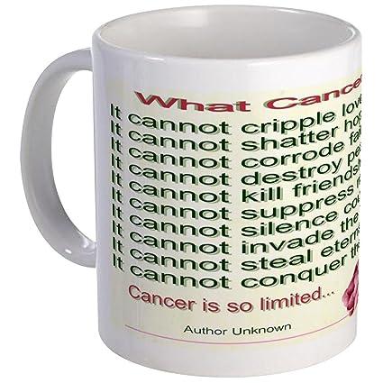 Amazon com: CafePress Limits Of Cancer Mug Unique Coffee Mug, Coffee