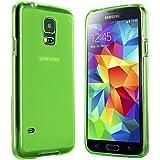 Samsung Galaxy S5 Mini Hülle in Grün - Silikonhülle Case Schutzhülle Tasche für Galaxy S5 Mini