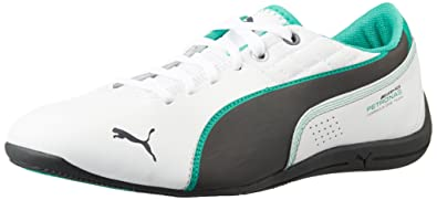 e1f8e21661a Puma Men s Mamgp Drift Cat Trainers White (White Dark Shadow Spectra Green)