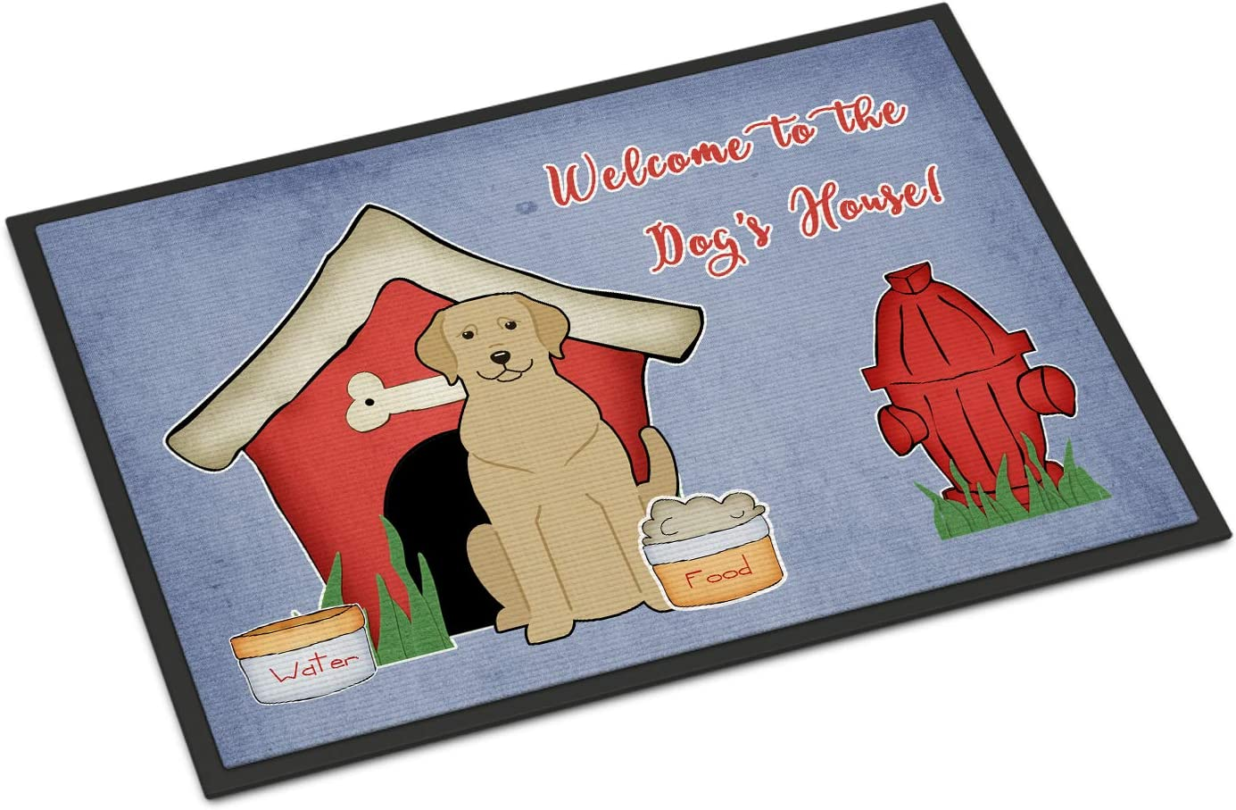 Carolines Treasures Dog House Collection Flashy Fawn Boxer Floor Mat 19 x 27 Multicolor