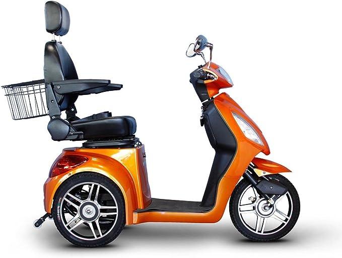 Amazon.com: E-Wheels EW-36 - Patinete eléctrico de 3 ruedas ...