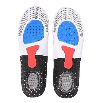 Fastar Plantillas Gel Deportivas para Hombre y Mujer Calzado de Baloncesto de  fútbol Zapato del Deporte edb79e0374668