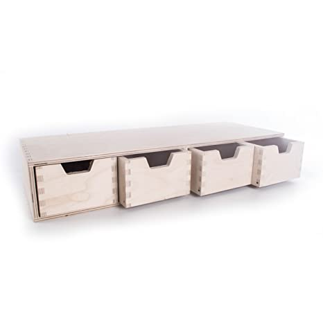 SEARCH BOX - Cajonera Horizontal de Madera para ...