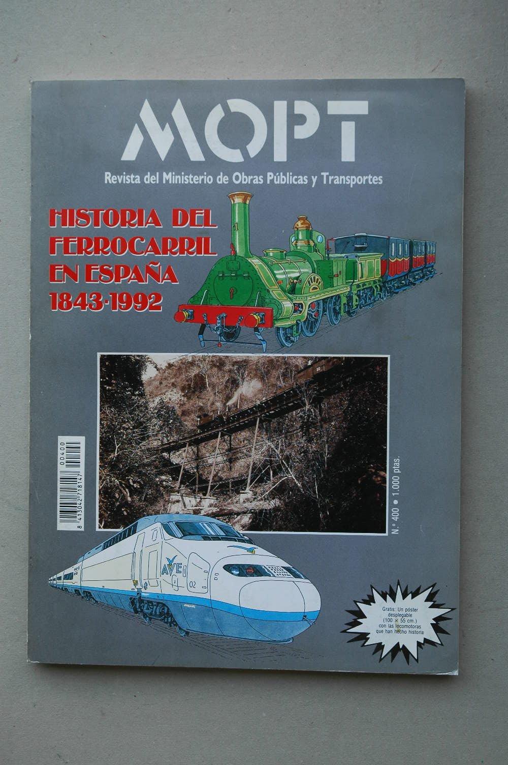 MOPT : revista del Ministerio de Obras Públicas y Urbanismo .-- Nº ...